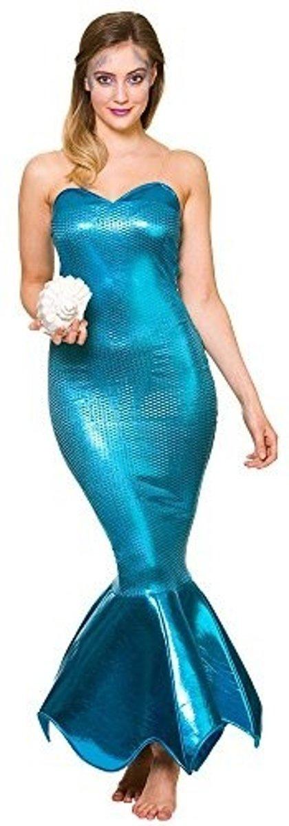 7843dab61c5546 Waarom Zeemeermin jurk  Deze zeemeermin jurk is ideaal voor een feestje met  een sprookjes of film thema! Altijd al een grote aantrekkingskracht tot het  ...