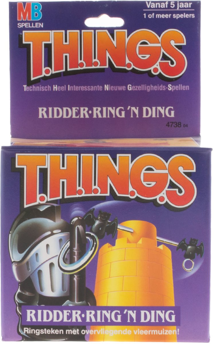 gezelschapsspel THINGS ridder-ring n ding - MB