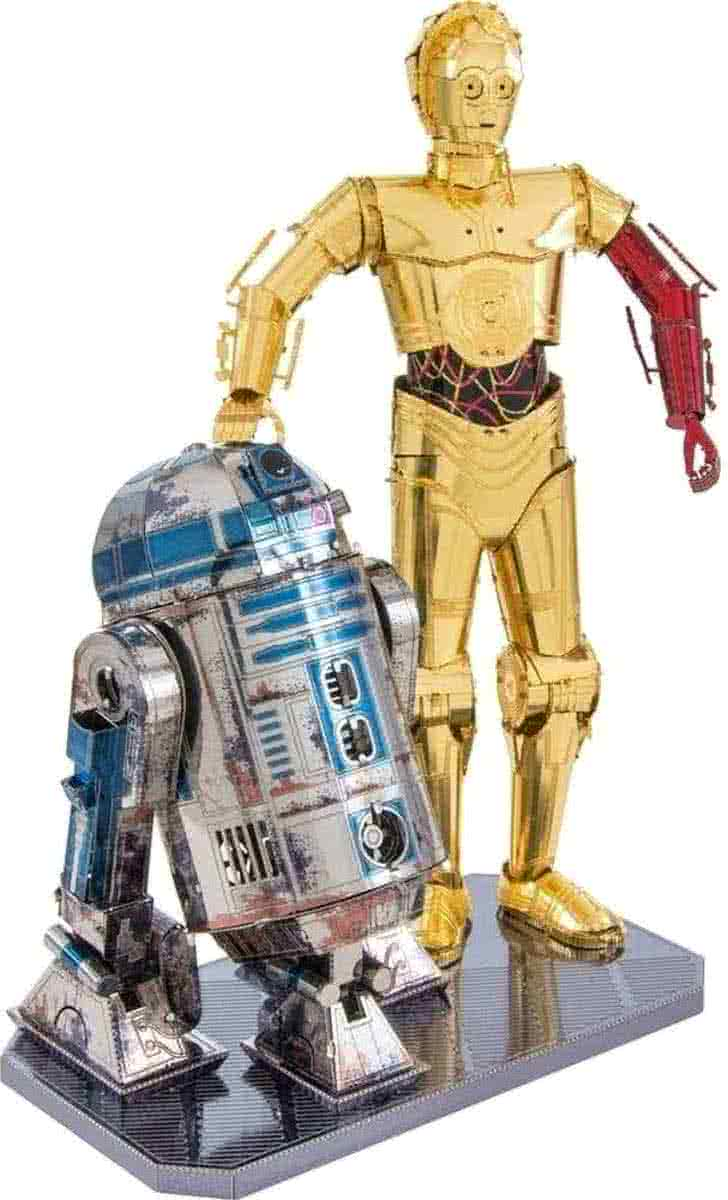 Metal Earth Star Wars R2D2 and C-3PO BOX SET