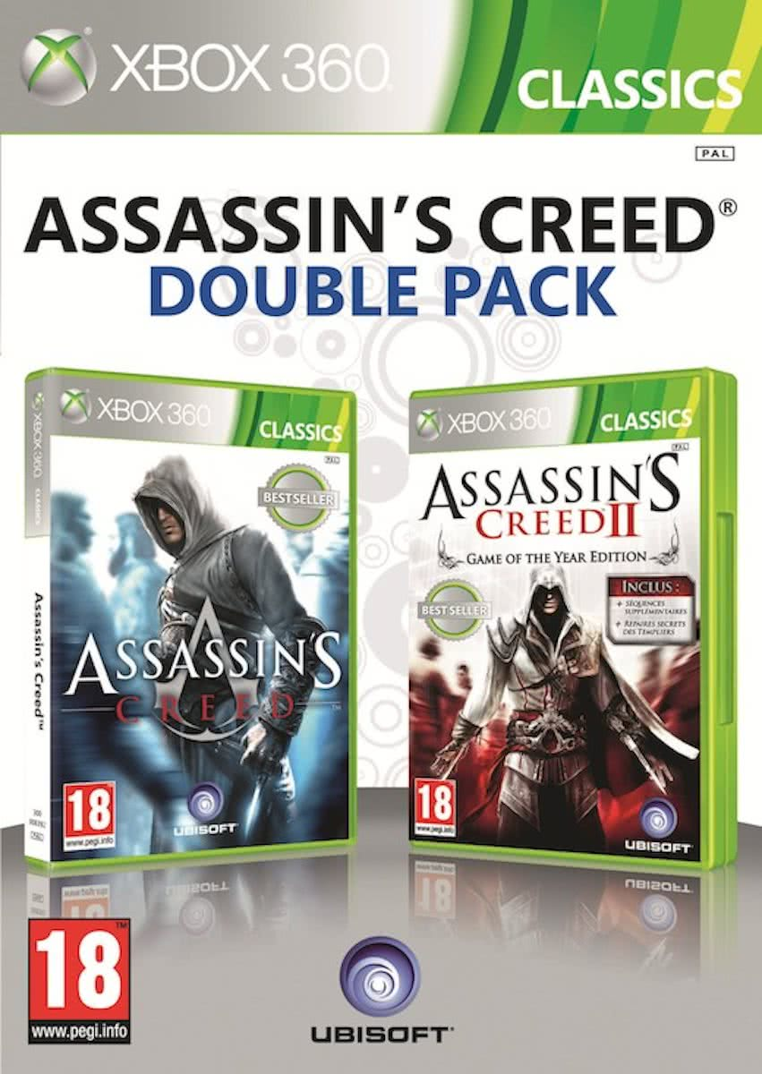 Assassins Creed & Assassins Creed II - Double Pack (BBFC) /X360