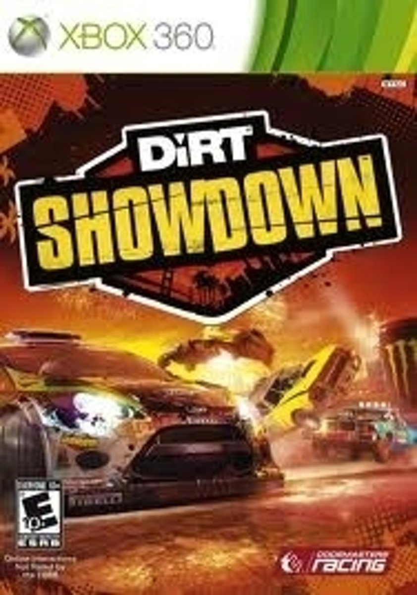 Codemasters Dirt Showdown, Xbox 360