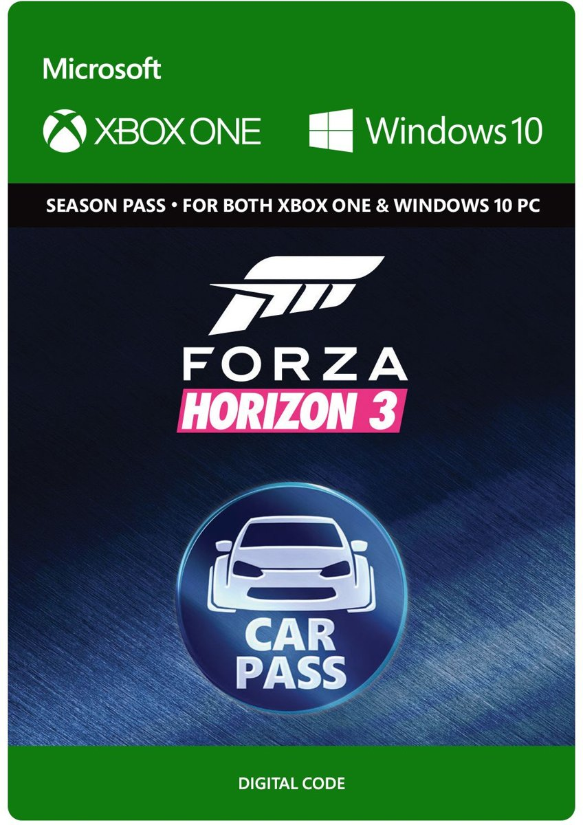 Forza Horizon 3 - Car Pass - Xbox One / Windows 10