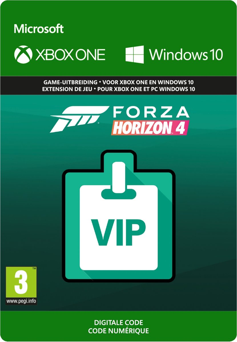 Forza Horizon 4: VIP Membership - Add-on - Xbox One / Windows 10