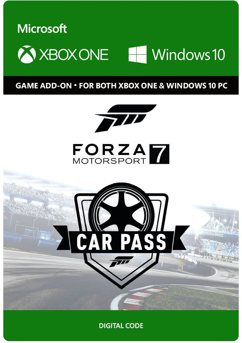 Forza Motorsport 7: Car Pass - Season Pass - Xbox One / Windows