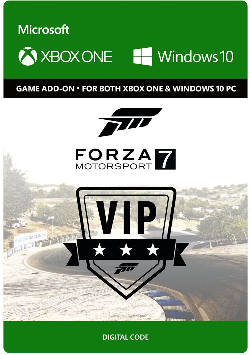 Forza Motorsport 7: VIP Membership - Add-On - Xbox One / Windows
