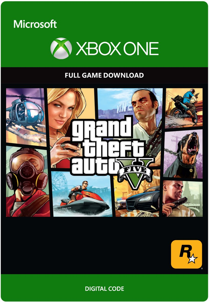 GTA V Xbox One Full Game (Digitale Code)