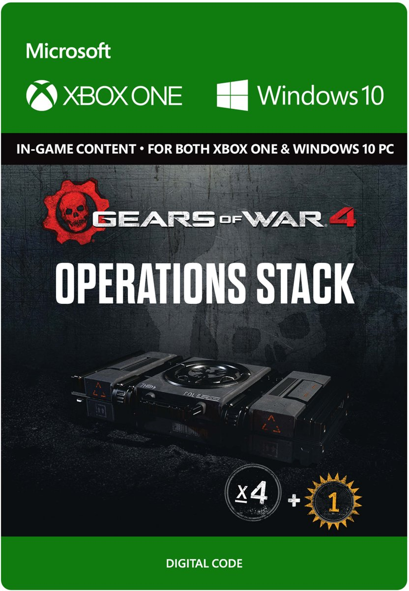 Gears of War 4 - Operations Stack - Xbox One / Windows 10