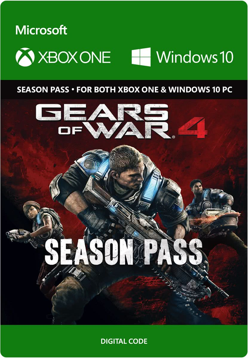 Gears of War 4 - Season Pass - Xbox One / Windows 10