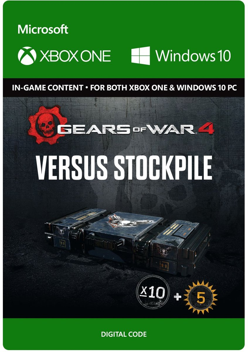 Gears of War 4 - Versus Booster Stockpile - Xbox One / Windows 10