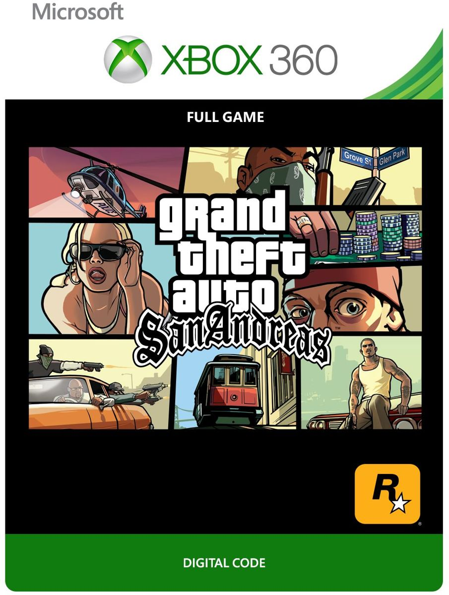 Grand Theft Auto: San Andreas  - Xbox 360 Download