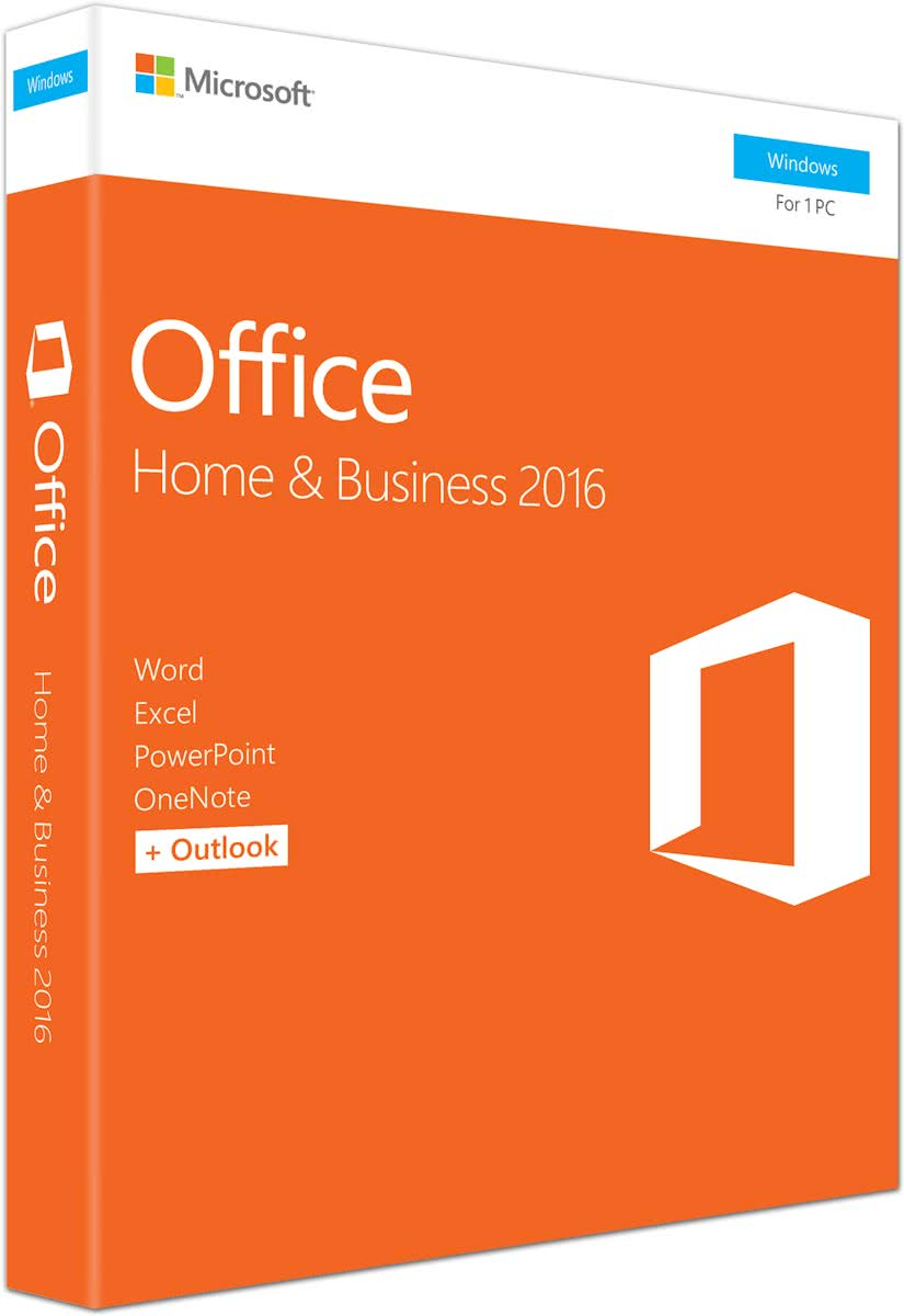 Microsoft Office Home Business 2016 - Windows - Engels