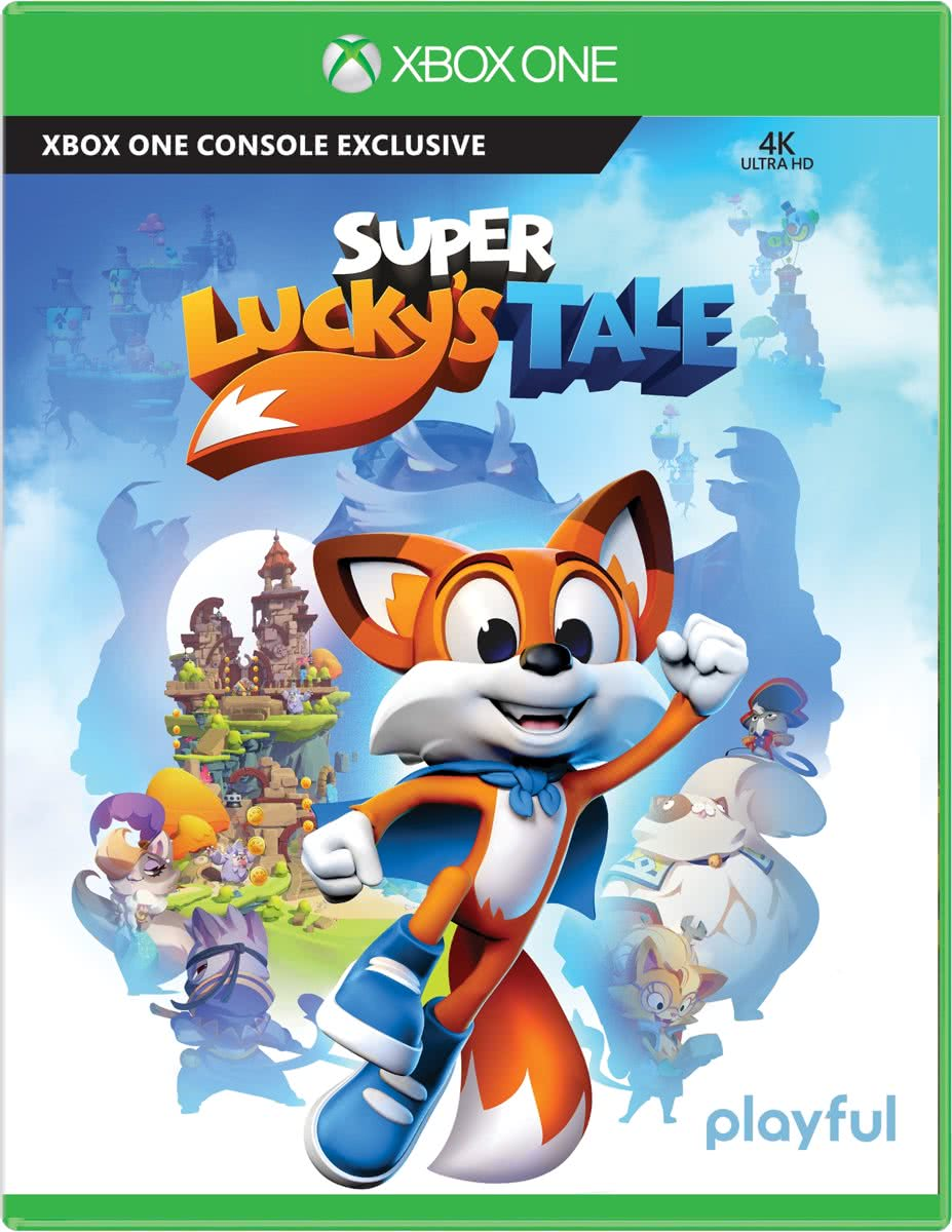 Microsoft Super Luckys Tale, Xbox One Basis Xbox One video-game