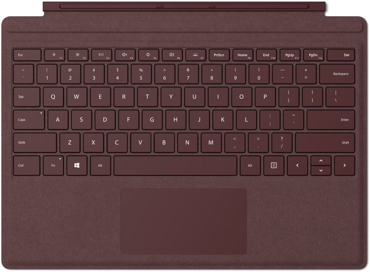 Surface Go Type Cover - Rood