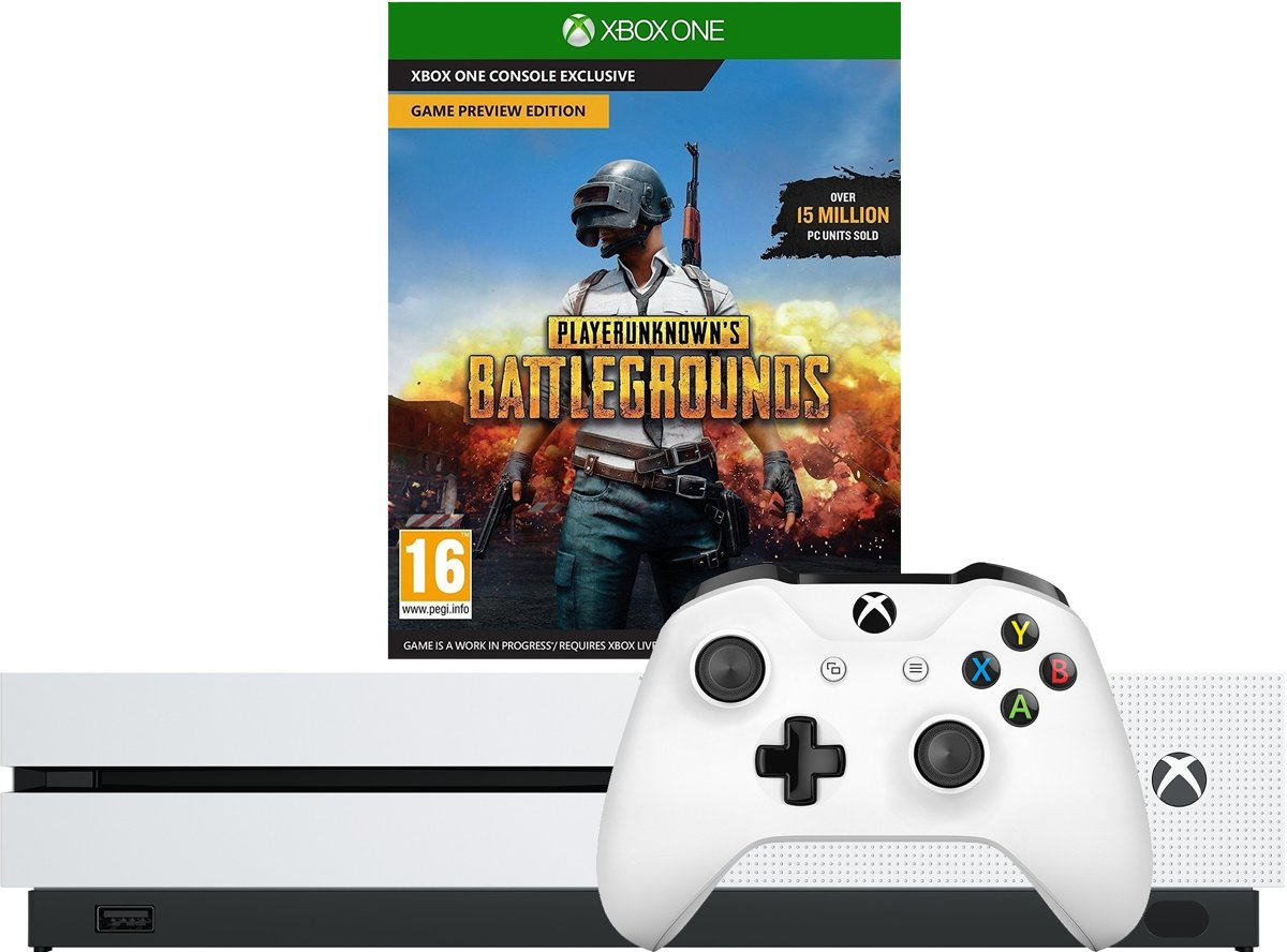 Xbox One 1TB Incl. Playerunknowns Battlegr. PEGI 18