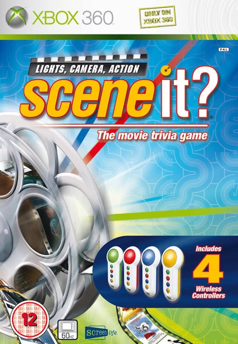 Scene It? Lights, Camera, Action /X360