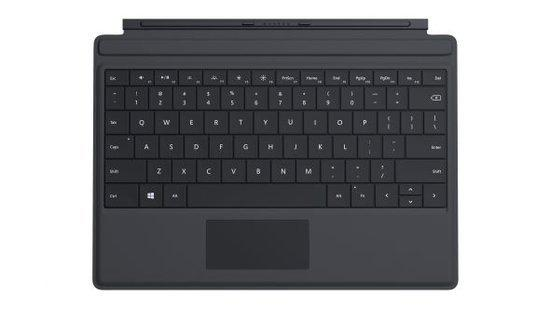 Surface 3 Type Cover - Azerty - Zwart