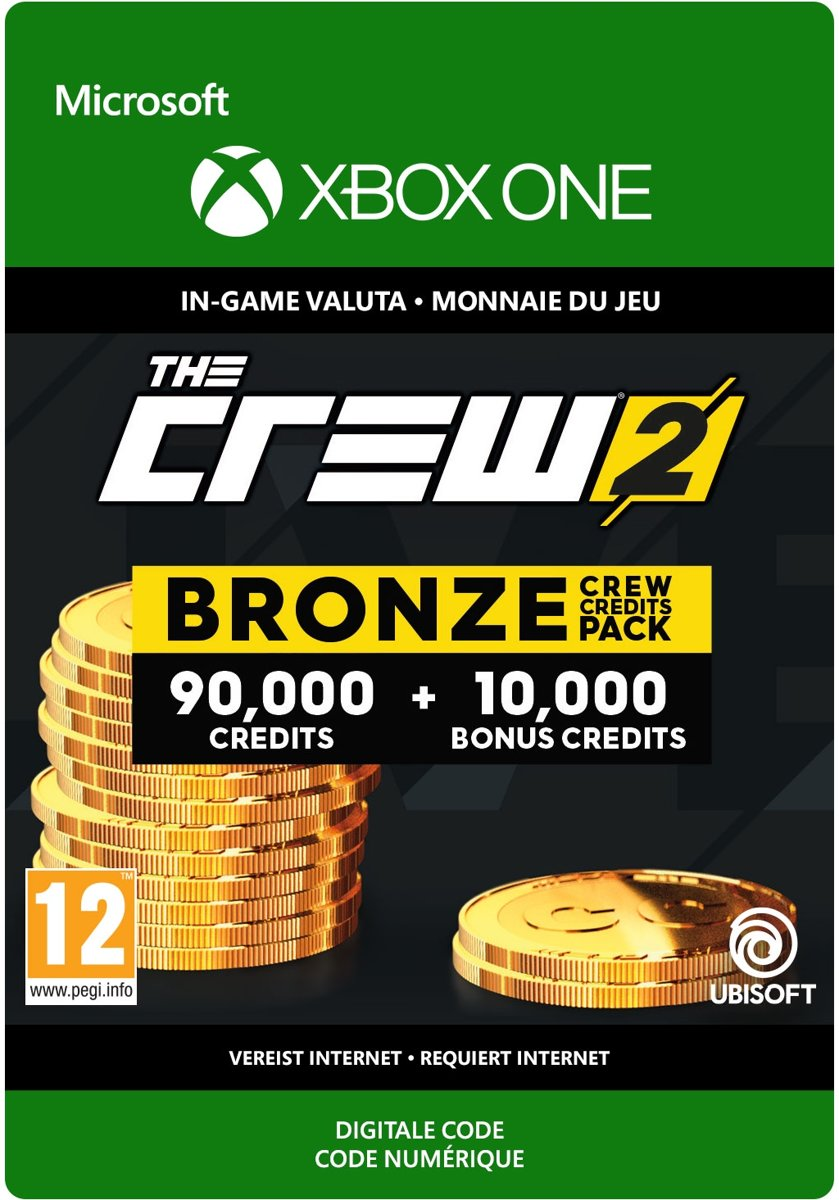 The Crew 2 Bronze Crew Credit Pack - Xbox One