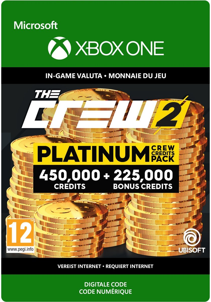 The Crew 2 Platinum Crew Credits Pack - Xbox One