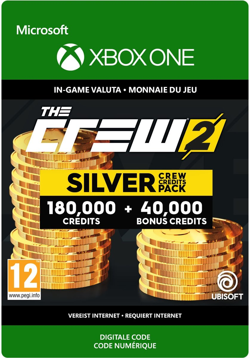 The Crew 2 Silver Crew Credit Pack - Xbox One