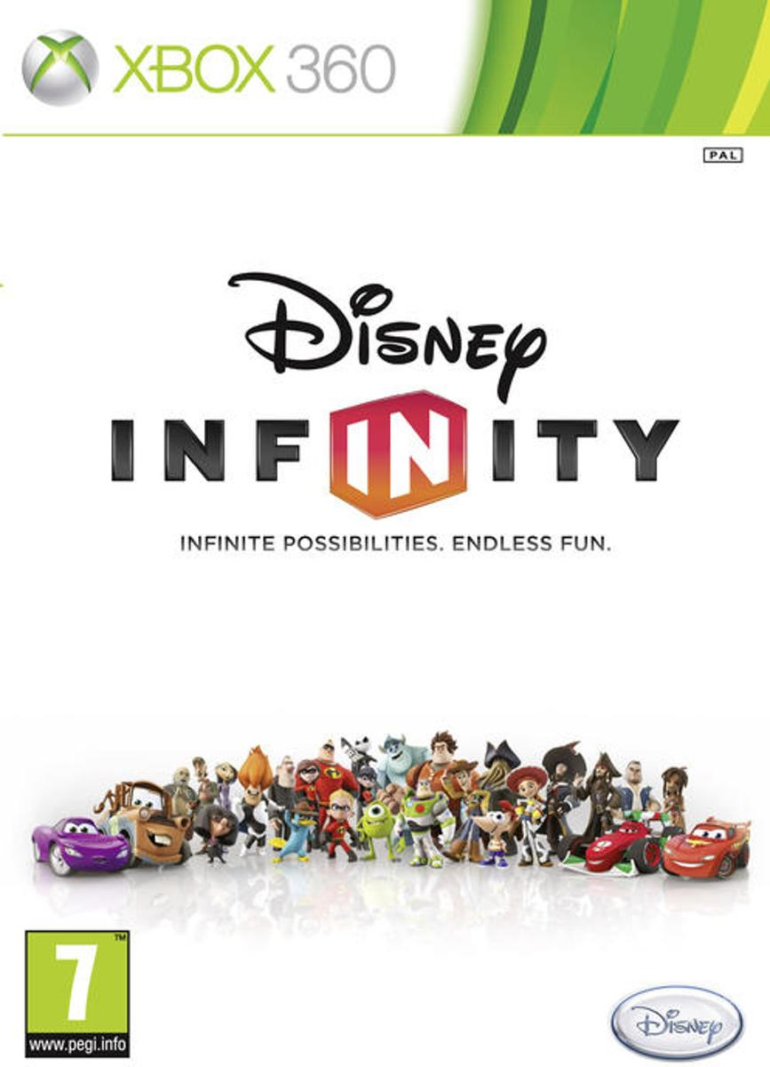 Xbox 360 - disney infintity 1.0 -game only-