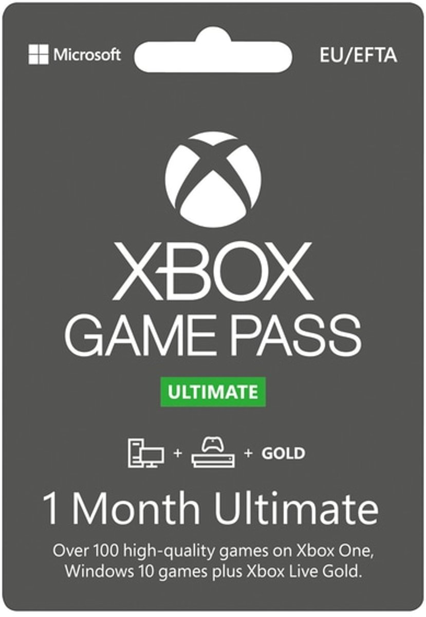 Xbox Live Game Pass Ultimate Online - 1 Maand