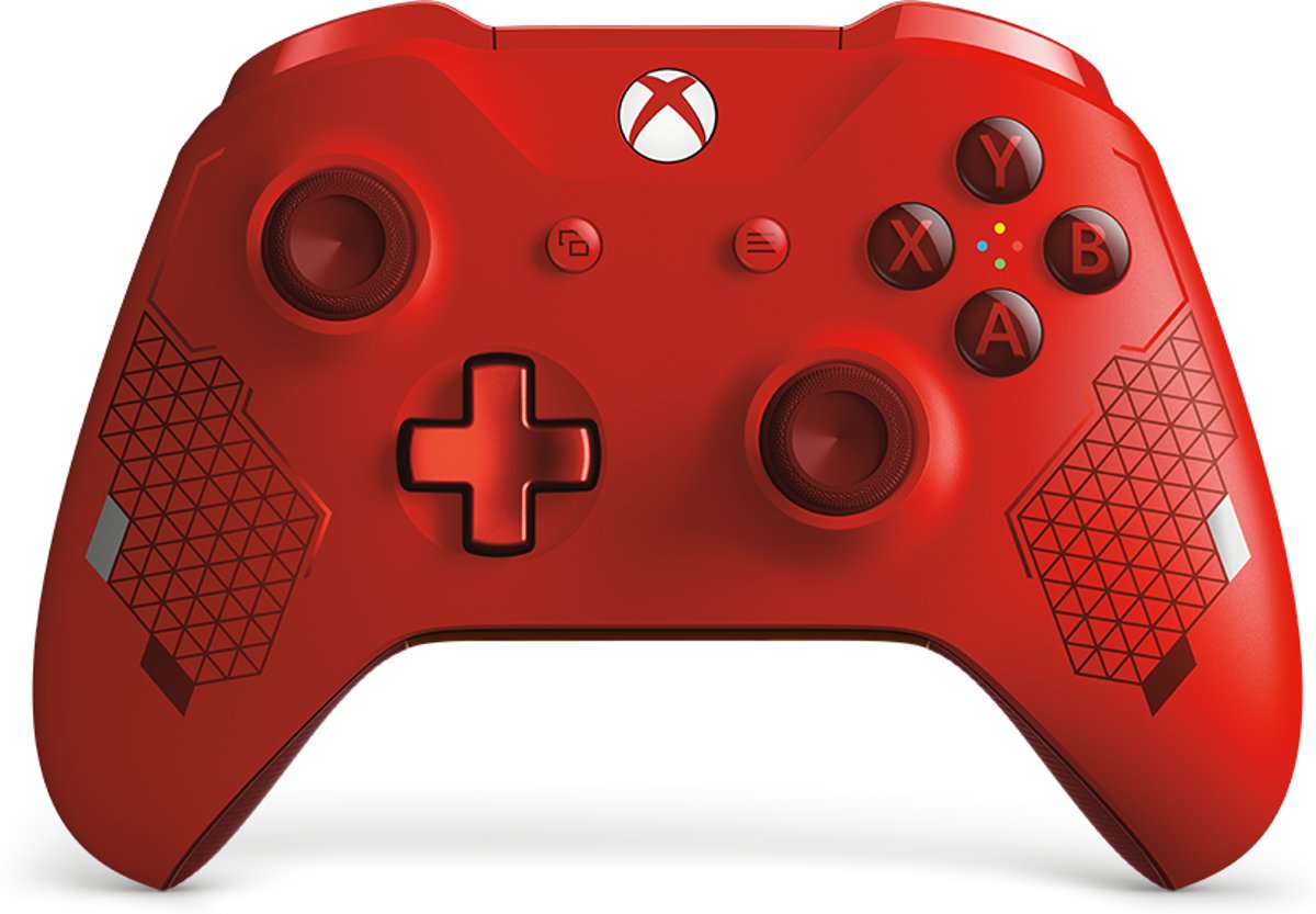 Xbox One Draadloze   - Sport Special Edition - Rood