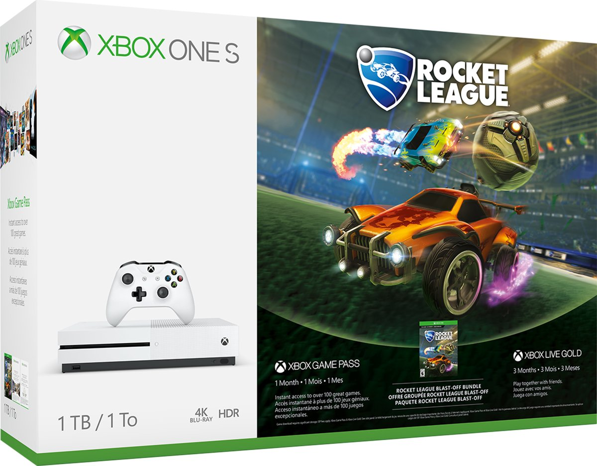 Xbox One S Rocket League Console - 1TB