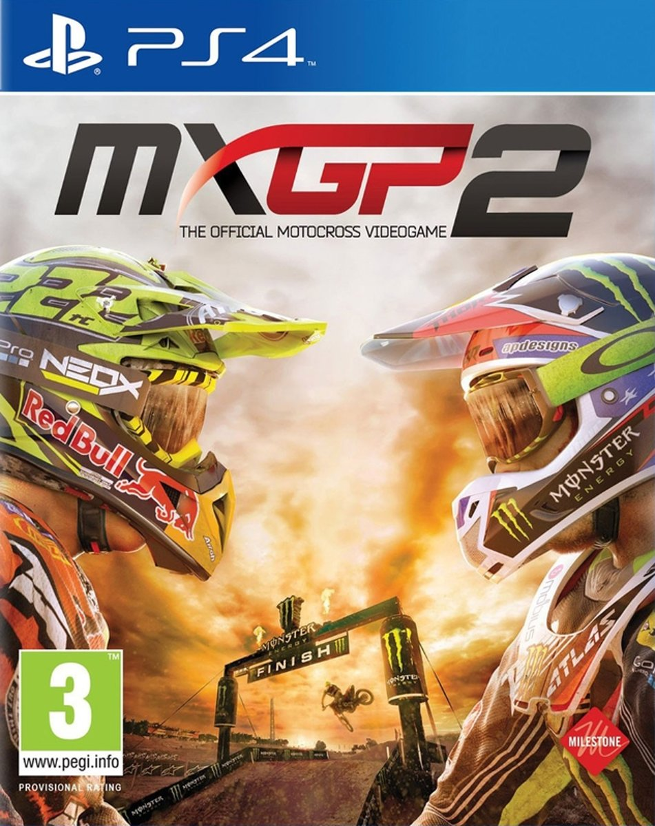 MXGP 2 - The Official Motocross Videogame /PS4