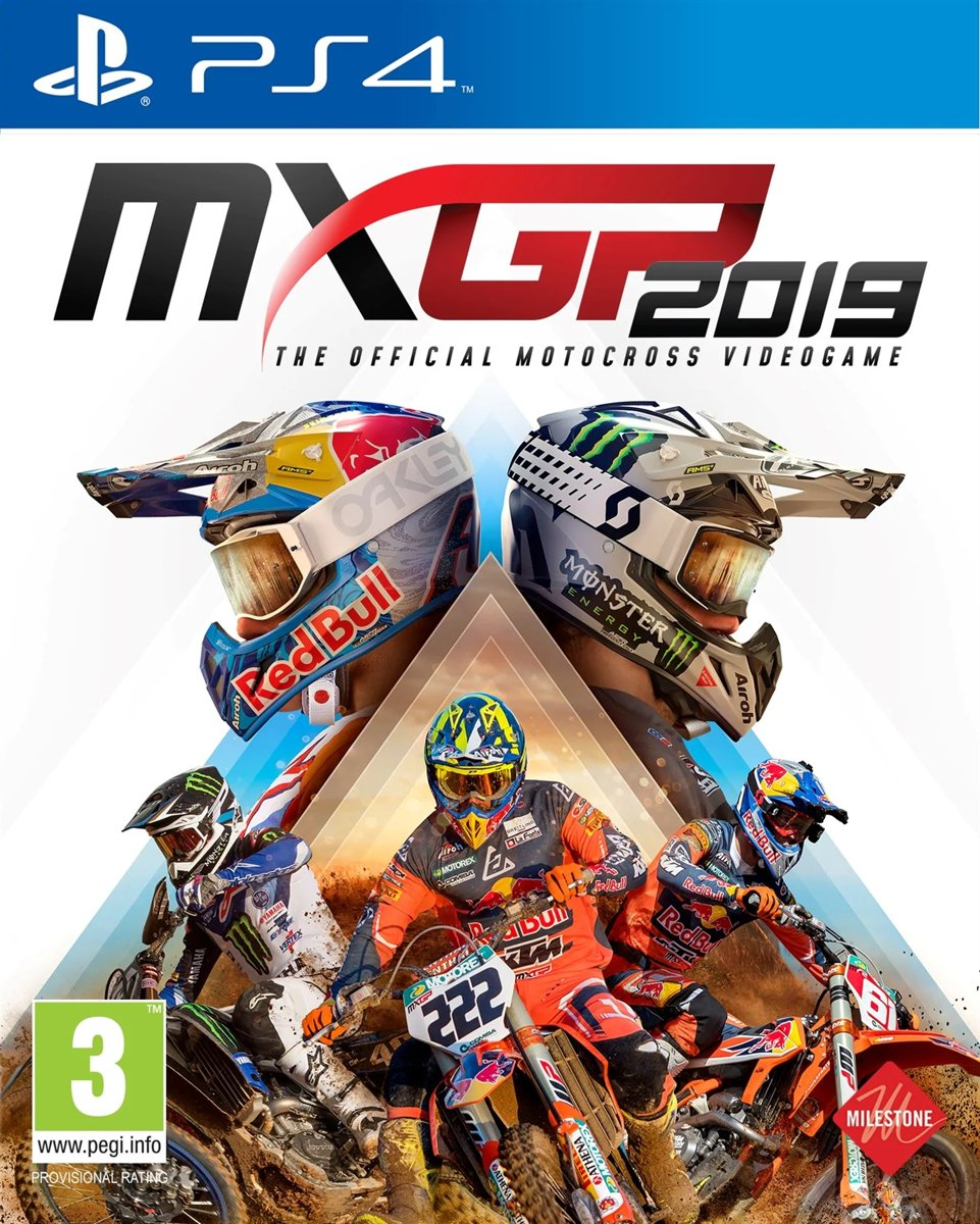 MXGP 2019: The Official Motocross Videogame PS4