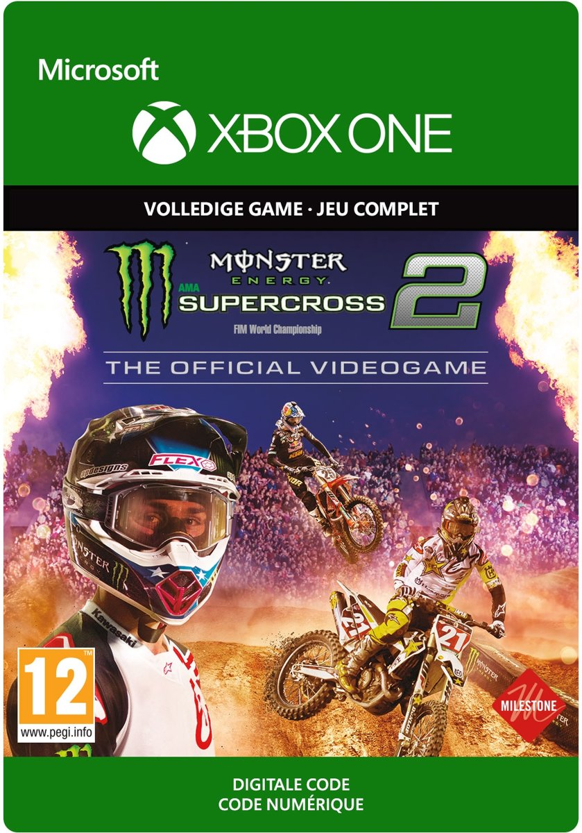 Monster Energy Supercross 2: The Official Videogame 2 - Xbox One