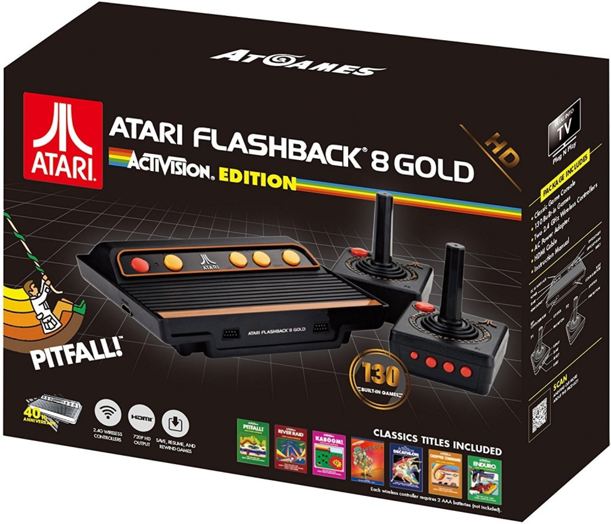 Atari Flashback 8 Gold HD Game Console (Activision Edition)