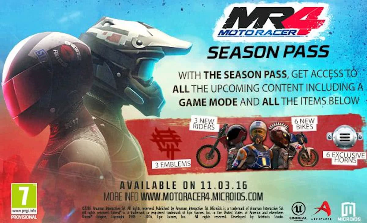 Moto Racer 4 - Season Pass - Windows / Mac