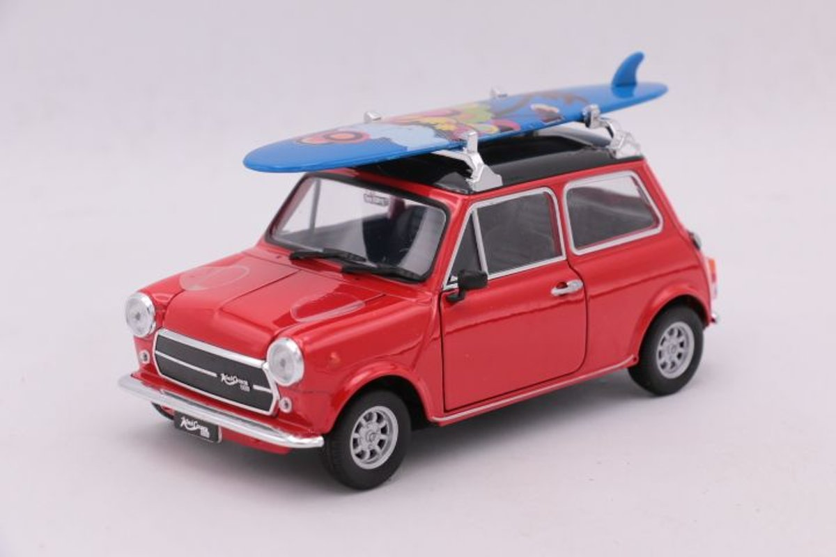 Mini Cooper 1300 Surfboard Red