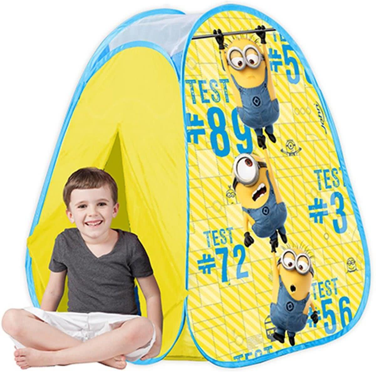 MINIONS POP UP PLAY TENT