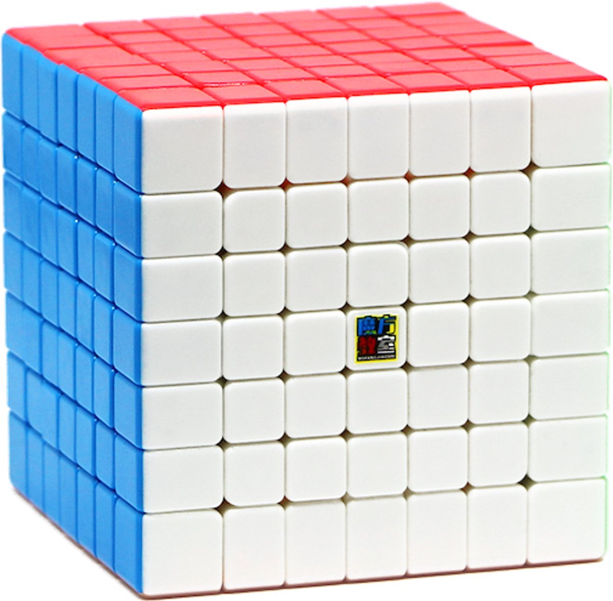 7x7 Speedcube - Rubik Cube- Stickerless Kubus - Moyu Meilong
