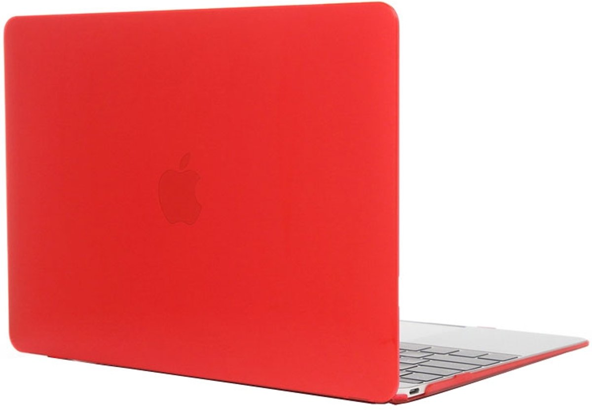 Mobigear Hard Case Crystal Rood voor Apple MacBook 12 inch