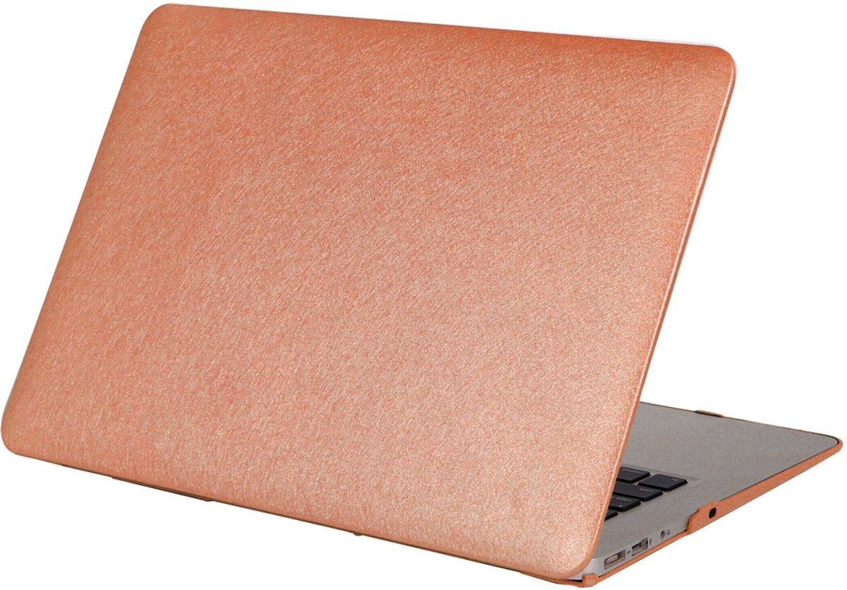 5fe82b5f17a Mobigear Hard Case Silk Texture Koper voor Apple MacBook Air 11 inch