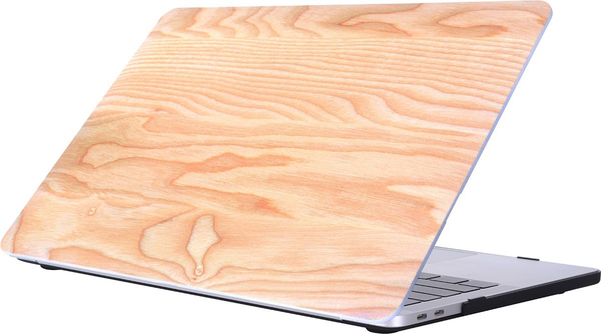 Mobigear Hardshell Case Wood Serie 8 Macbook Pro 13 inch Thunderbolt 3 (USB-C)