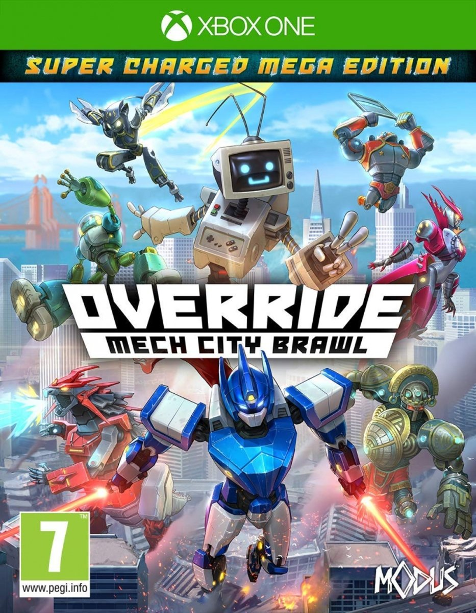 XBOX1 Override: Mech City Brawl - Super Charged Mega Edition