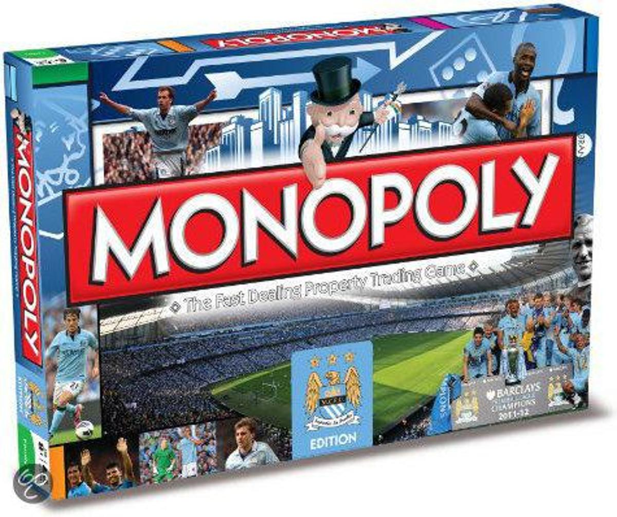 Manchester City Fc Monopoly Board Game - Bordspel