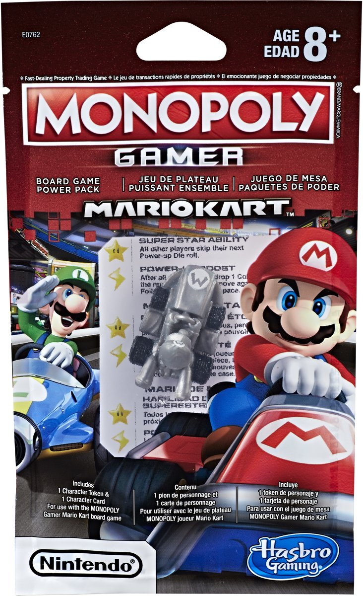 Monopoly Gamer Mario Kart Power Pack - Bordspel