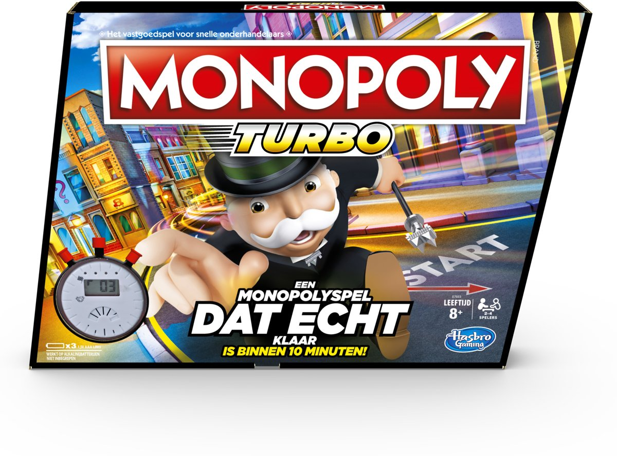 Monopoly Speed - Bordspel