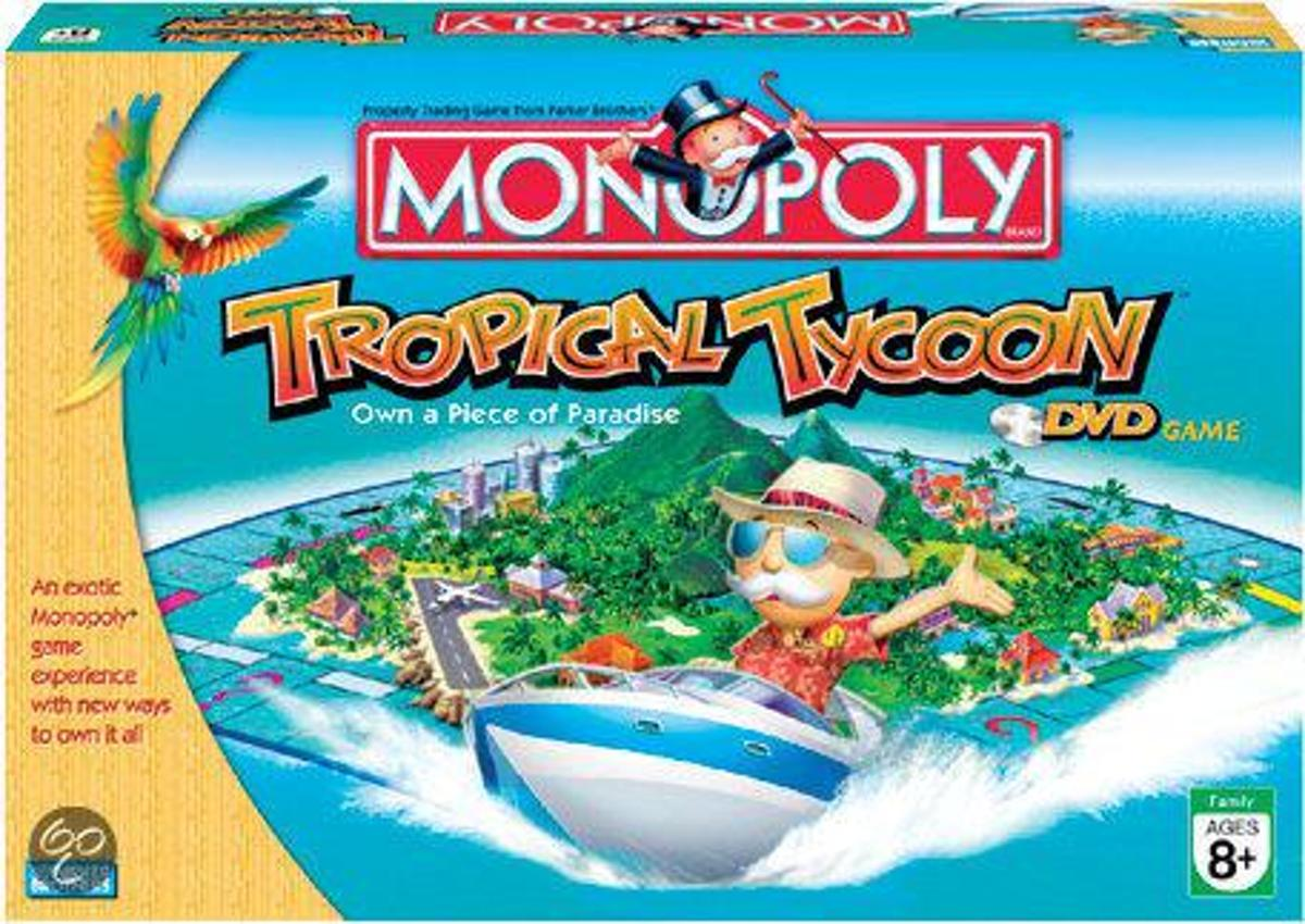 Monopoly Tropical Tycoon - Dvd Editie