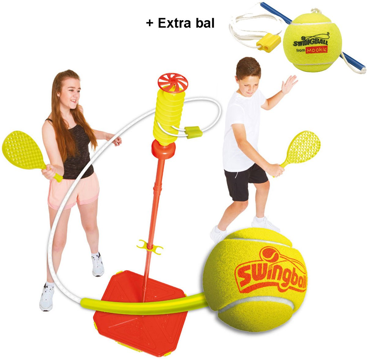 Swingball Classic All Surfaces met extra bal