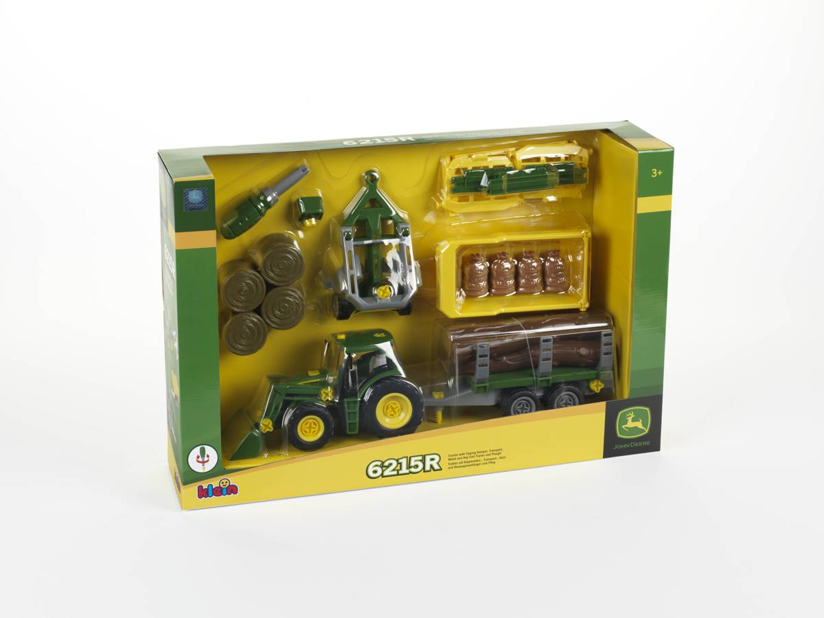 JD TRACTOR+ 5 TRAILERS