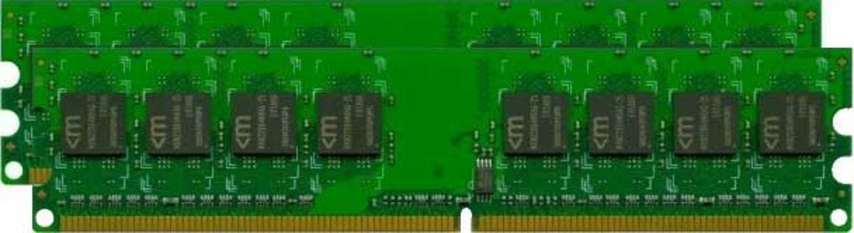4GB DDR3 PC3-8500 Kit 4GB DDR3 1066MHz geheugenmodule
