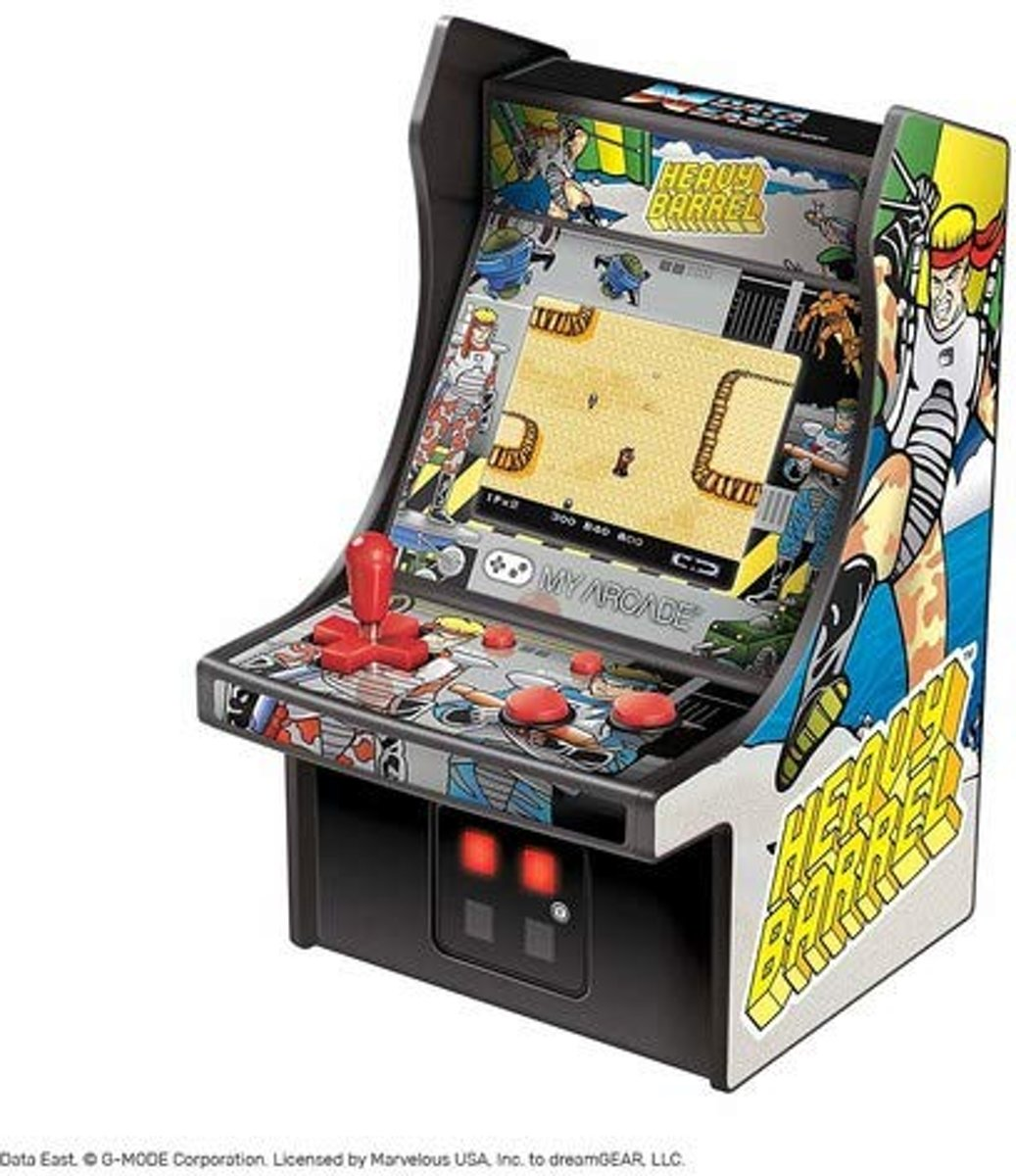 Retro Mini Arcade Machine Heavy barrel