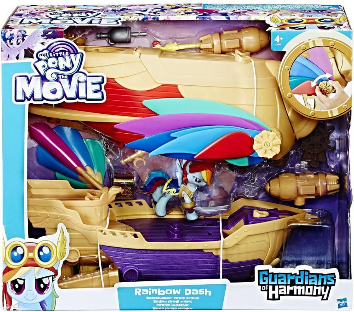 My Little Pony, Rainbow Dash Piraten Luchtschip, Guardians of Harmony