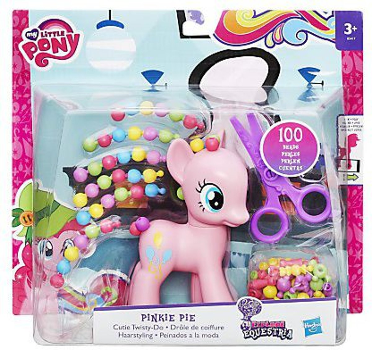 My Little Pony Pinkie Pie Haarstyling