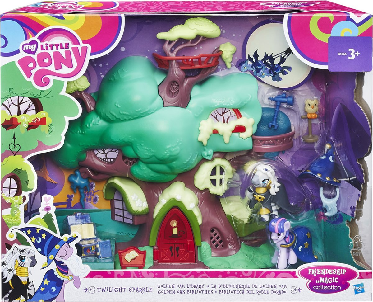 My Little Pony Twilight Sparkles Bibliotheek Speelset
